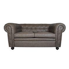 #Sofa #Chester - #Estilo #Vintage #Decoración #Industrial #Retro #Couch #Mobiliario