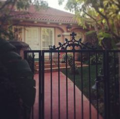 The gates that lead to Marilyn's favorite #Bungalow1