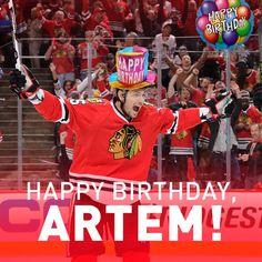 Happy birthday to Artem Anisimov! #15 #Blackhawks