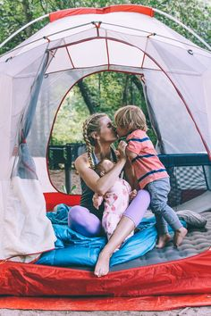 Barefoot Blonde First Camping Trip