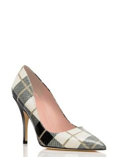 I've gotten so many compliments on these shoes today.  I am loving Kate Spade shoes.  I will pay more attention to this designer, moving forward.
