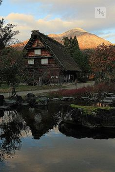 Talking Point Photo - Historic Villages - Gassho Houses ( traditional style of Japanese architecture w... 401281750112684