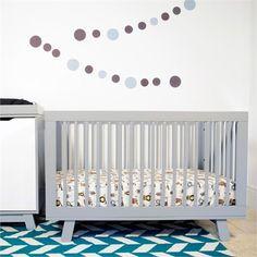 Grey Hudson Convertible Crib