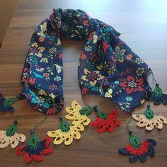 83 Likes, 0 Comments - İpeğin Love Crochet, Crochet Motif, Crochet Flowers, Textile Jewelry, Boutique, Cross Stitch Embroidery, Crochet Projects, Crochet Necklace, Knitting