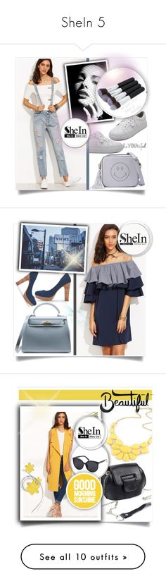 """""""SheIn 5"""" by melisa-hasic ❤ liked on Polyvore featuring WithChic, PBteen, vintage and Essie"""