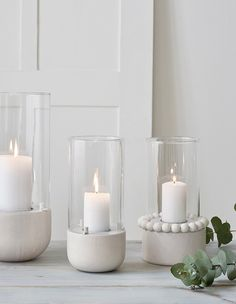 The Ruustinna series now includes a delightful little tealight lantern. Place on the table or beside the fireplace for a warm light. Birch/glass/metal, height 17 cm, lantern Ø 6 cm, incl. White Candles, Tea Light Candles, Tea Lights, Floor Lanterns, Candle Lanterns, Concrete Candle Holders, Tealight Candle Holders, Tabletop Fire Bowl, Cement Crafts