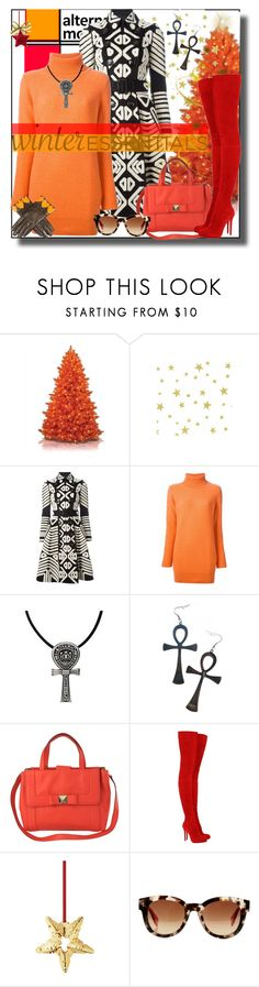 """alternative motives"" by fassionista ❤ liked on Polyvore featuring philosophy, Burberry, Fedeli, Kill Star, Kate Spade, Christian Louboutin, Georg Jensen, Fendi, Moschino and women's clothing"