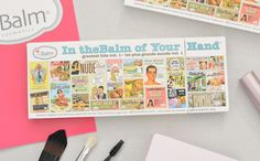 Beauty blogger Peonies and Lilies reviews and swatches our In theBalm of Your Hand Holiday palette!
