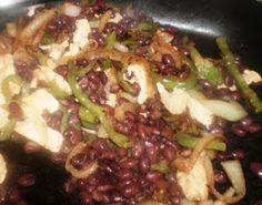 Chicken Tostada or Fajita filling (ala Chris Powell's recipe)