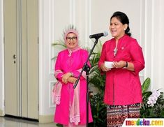 Mr President, Joko, Kebaya, Jakarta, Traditional Outfits, Her Style, Sari, Classy, Blouse