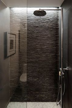 1000 images about badkamer on pinterest bathroom met and showers - Badkamer donker ...