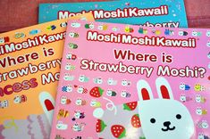 Cute, unique bunnies called Moshi in new, entertaining seek-and-find book