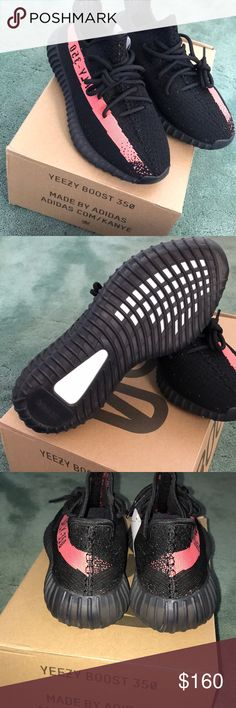 Adidas Yeezy 350 Boost v2 Size 8.5 Size 8.5 Red Black  Text for details! Top quality UA  (609) 839 3058 Yeezy Shoes Athletic Shoes