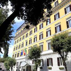 Behind this bright facade your roman home awaits #aTasteofEden #DCmoments