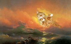 Ivan Aivazovsky,The Ninth Wave