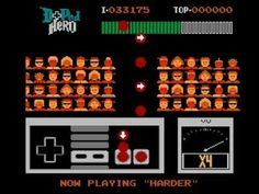 D-Pad hero, a Guitar Hero clone for the NES.  Lots of fun and awesome that the developers made a great new game for classic gamers.  There's also a sequel.
