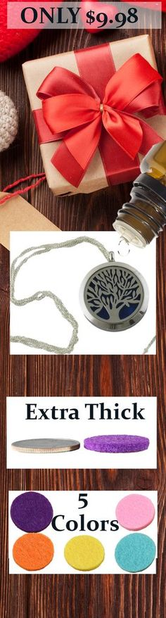 Tree Essential Oil Diffuser Necklace
