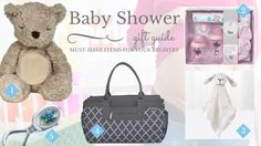 The 5 Must-Have's for your #BabyShower Registry