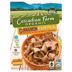 Cascadian Farms Cinnamon Crunch 10.3 oz : Target