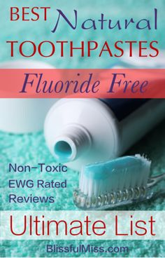 Your Go-To Resource for the Best Fluoride Free Toothpastes. Rated safe by the Environmental Working Group (EWG) and reviewed by humans for the ultimate natural toothpaste guide.
