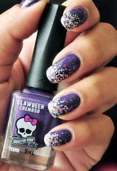 Ombré Glitter Nails . | Flickr – Compartilhamento de fotos!