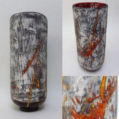 Ceramic Vase by Niqui Kommerkamp. Vaas, Keramiek, handgemaakt