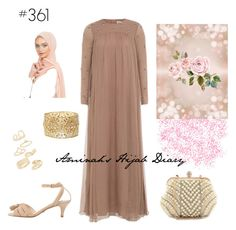 """#361 Rose Dust"" by aminahs-hijab-diary ❤ liked on Polyvore featuring MANGO, Charlotte Russe and Topshop"