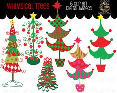 61 ideas for whimsical christmas tree painting decorating ideas Christmas Tree Printable, Grinch Christmas Party, Christmas Tree Clipart, Christmas Yard Art, Christmas Tree Painting, Christmas Crafts, Christmas Ideas, Christmas Decorations, Christmas Rock