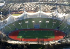 10 of the best stadiums and venues from past Olympics: Olympiastadion München by Frei Otto, Munich 1972
