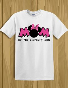 Orejas de camiseta Disney Minnie Mouse, mamá de la camiseta chica camiseta personalizada Minnie cumpleaños fiesta de cumpleaños, Minnie Silhouette