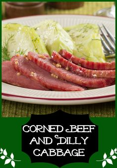 With our recipe for Corned Beef and Dilly Cabbage you can still enjoy an Irish tradition from time to time. Now isn't that lucky?!