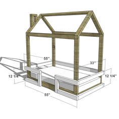http://www.thedesignconfidential.com/2015/11/diy-furniture-plans-how-to-build-toddler-bed-rail