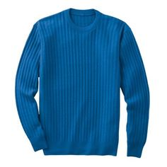Crushable Slipstream Cable Crewneck Sweater from TravelSmith