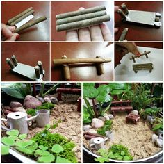 >> DIY Miniature Garden for Beginners by Instructables << >>> More Creative Ideas