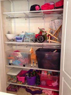 Little girl closet organization www.doubletakeorganizing.ca