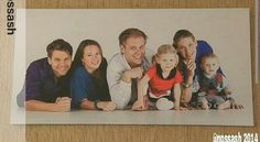 Armin van Buuren and his family.
