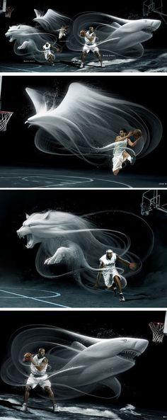 Basketball player spirits