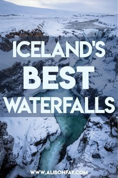 Photographing the best Waterfalls in Iceland, Travel Photography Guide Guide To Iceland, Iceland Travel Tips, Europe Travel Guide, Travel Guides, Travelling Europe, Traveling, European Destination, European Travel, Photography Guide