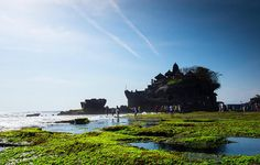 Arguably the most popular temple in Bali, Tanah Lot definitely lives up to its fame, with its dramatic setting. Padi Diving, Scuba Diving, Temple Bali, Goddess Of The Sea, Bali Travel Guide, Diving Course, Koh Tao, Sandy Beaches, Natural Wonders