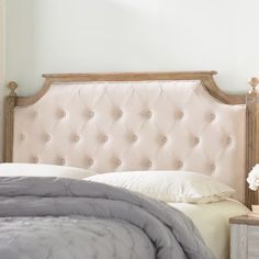 Shop a great selection of Fleur Upholstered Panel Headboard Lark Manor. Find new offer and Similar products for Fleur Upholstered Panel Headboard Lark Manor. French Country Furniture, French Country Bedrooms, Country French, Italian Furniture, French Farmhouse, Wingback Headboard, Panel Headboard, White Upholstered Headboard, Queen Headboard