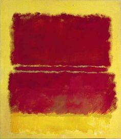 """«Mark Rothko:   """"No. 15""""   (1952)»."""