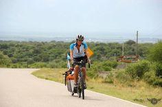 Mujeres viajeras, La vuelta al mundo en bici . Gigi Scorcher Viajera de los vientos