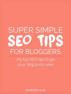 I always love simple! Here's a helpful post to make SEO on your therapy website a little more simple for you. Check it out: