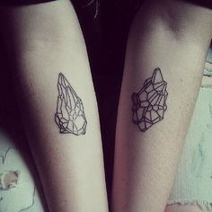 Crystal Gem Tattoos