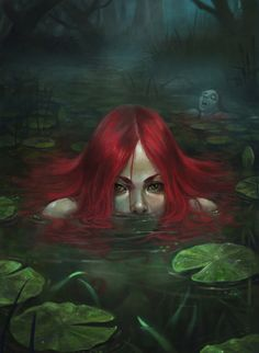 Online digital art gallery of best pictures and photos from portfolios of digital artists. Manually processing and aggregation artworks into the thematic digital art galleries. Dark Fantasy Art, Fantasy Artwork, Dark Gothic Art, Mermaids And Mermen, Evil Mermaids, Image Digital, Mermaid Art, Mythical Creatures, Art Inspo