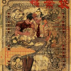 collage& mixed media art - Google Search