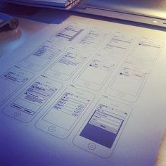 App UI Sketch ui