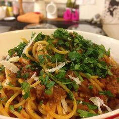 I know this is about the 4th bolognese recipe I've posted up here, but it's one of my favourite comfort foods so I make it a lot and tend to experiment!  This one's a bit of a throwback to my childhood as I was SO fussy about eating vegetables that my Mum used to puree my bolognese sauce so I didn't keep picking bits out! I still love having ...