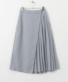 WEB限定アシンメトリーラップスカート