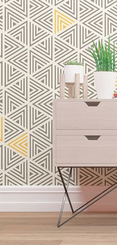 We are excited to present the latest addition to our Geometric Wall Stencils. To freshen up your interior, choose your favorite colors and let our reusable stencils for painting spice up your walls, fabrics, and furniture!